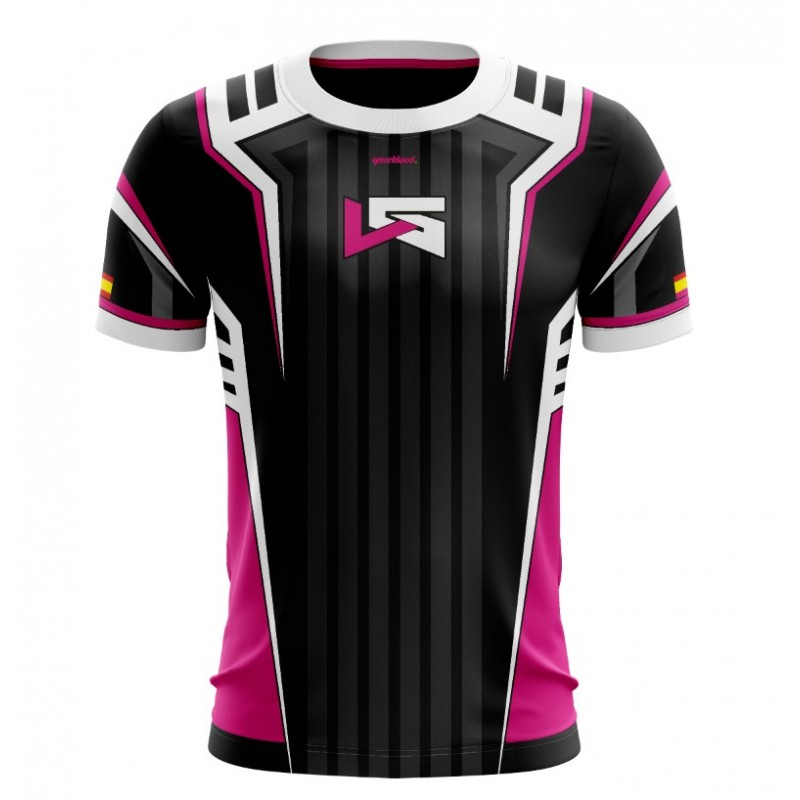 Camiseta Lethal Gaming Pink Edition